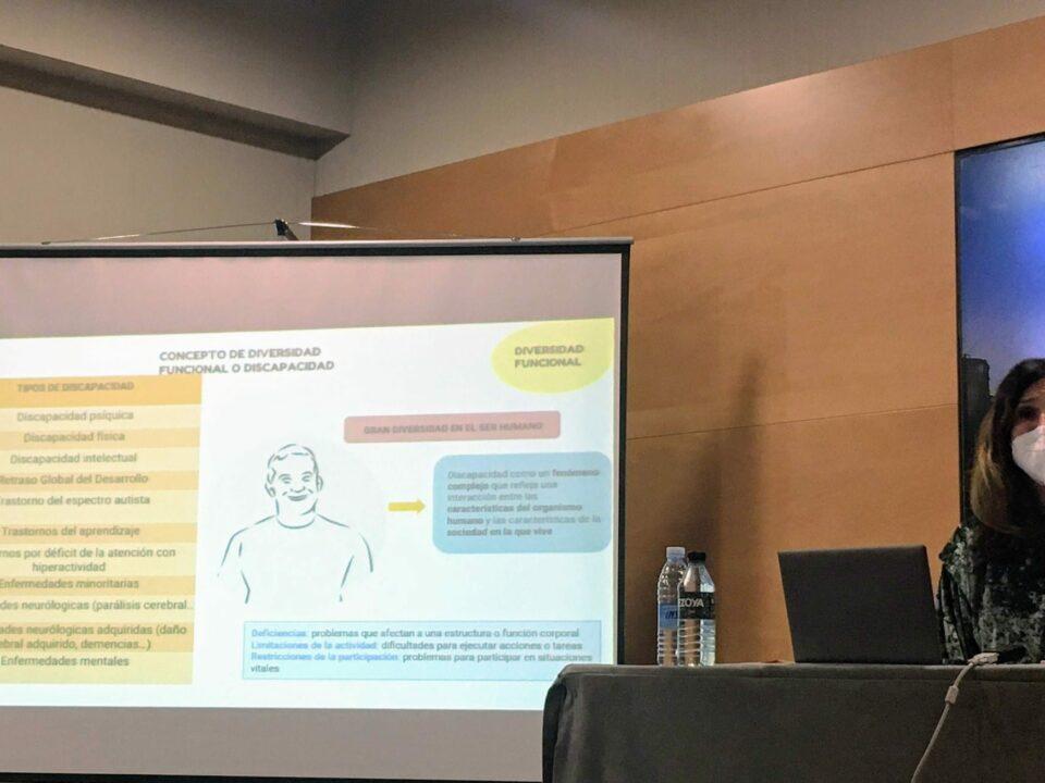 Ainhoa Espinosa de Luzarraga, especialista en neuropsicología y sexualidad.